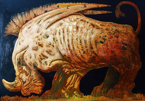 """""""Крылатый носорог""""."""