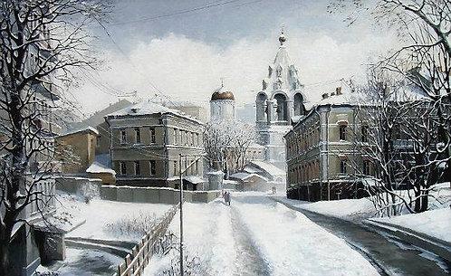 Зимний день. Старая Москва