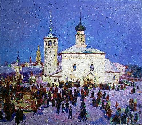 Суздаль. Воскресенская церковь.