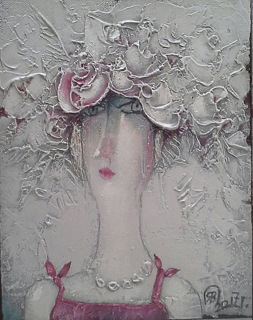 Венок из роз