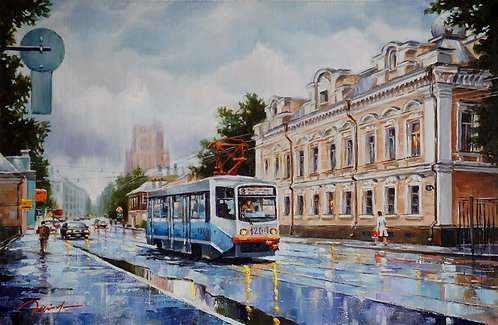 Дождь на Новокузнецкой