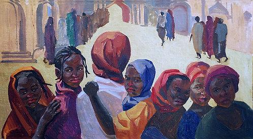Кения. Голодные дети