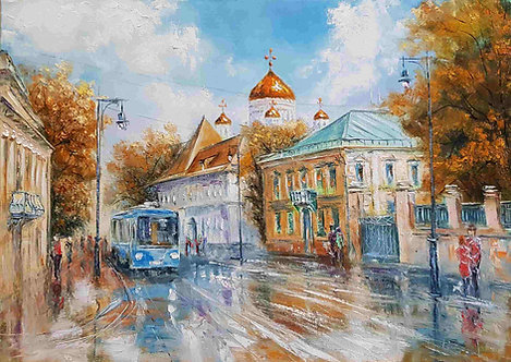 """Москва.ул. Пречистенка""."