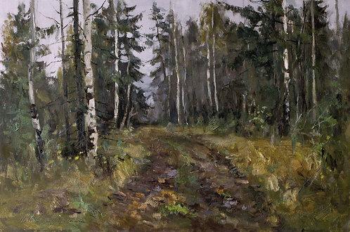В лесу. Октябрь