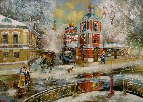 Москва. Гончарный переулок