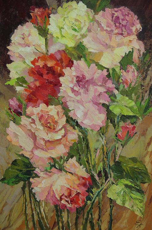 Подаренные розы