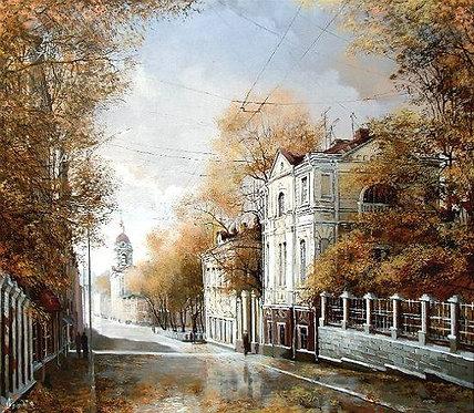 Конец сентября. Москва