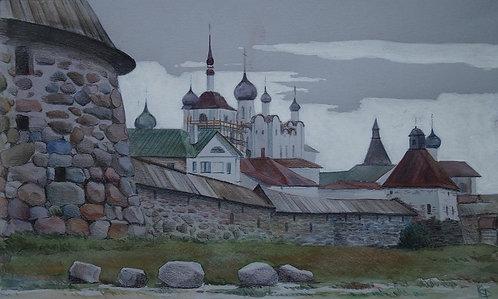 """"""" Соловецкий монастырь""""."""