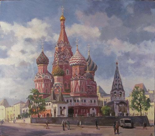 Москва. Покровский собор (Храм Василия Блаженного)