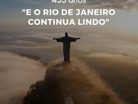 Rio comemora seu 453° aniversário