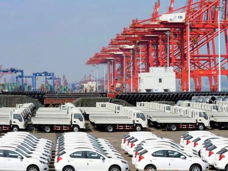 Base de exportação chave da Índia para empresas de automóveis