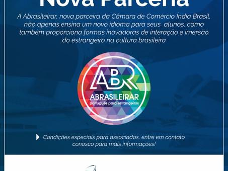 Nova Parceria da Câmara: ABRASILEIRAR - Português para Estrangeiros