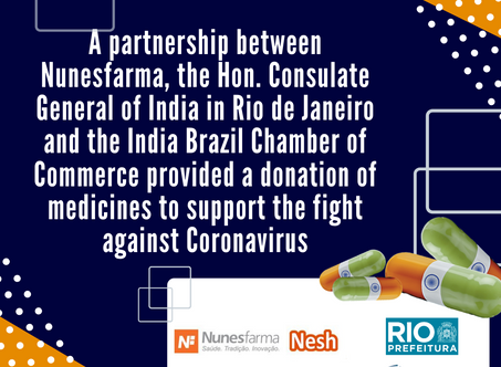 Cooperative action provided a donation of medicines against COVID-19
