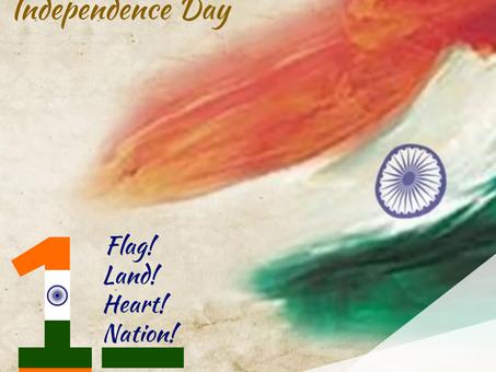 Feliz Dia da Independência da Índia!