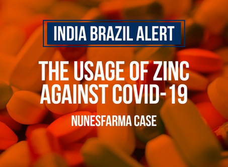 Zinc in the fight against COVID-19 - Nunesfarma case