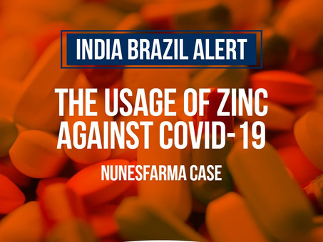 Zinc in the fight against COVID-19 - Nunesfarma case