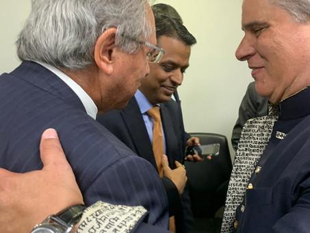 Fórum de CEOs Índia Brasil - Encontro com o Exmo. Ministro da Economia, Sr. Paulo Guedes