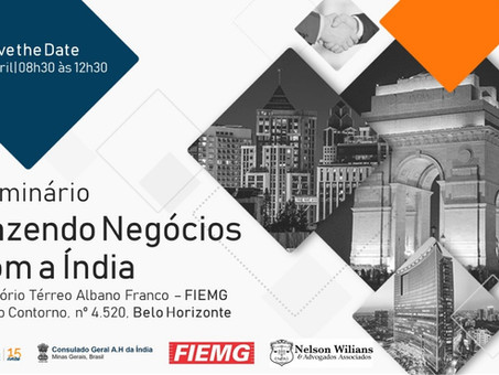 DOING BUSINESS WITH INDIA | BELO HORIZONTE EDITION