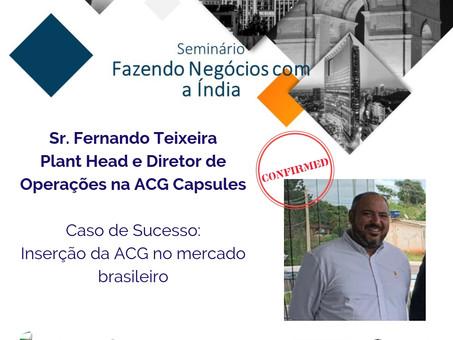 Palestrante Confirmado | Fazendo Negócios com a Índia - Edição Belo Horizonte