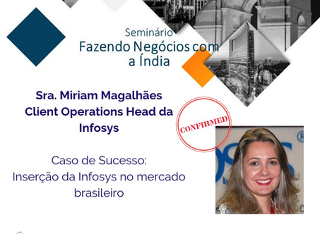 Speaker Confirmed! Doing Business with India - Belo Horizonte Edition
