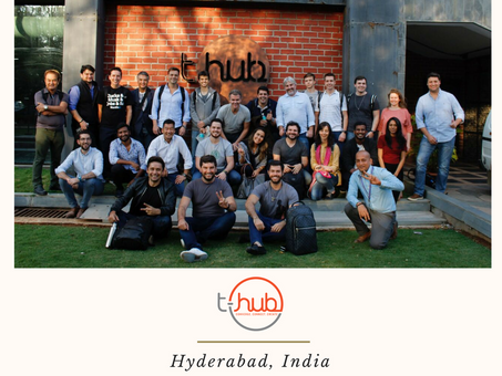 IBCC's Brazilian Delegation, in partnership with Startse,  visited to t-Hub