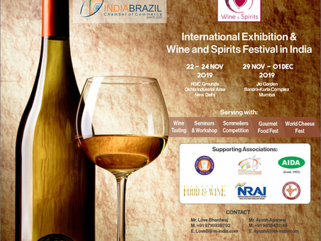 EVENT FOR BRAZILIAN BEVERAGES AND FOOD COMPANIES, AND WINE LOVERS!