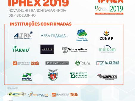 CONFIRA AS INSTITUIÇÕES QUE FARÃO PARTE DA MISSÃO IPHEX 2019: