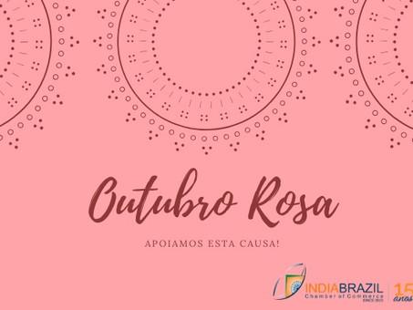 Outubro Rosa - Apoiamos esta causa