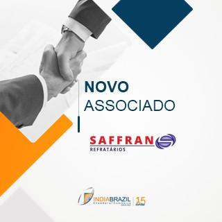 New Member of the India Brasil Chamber of Commerce: Saffran
