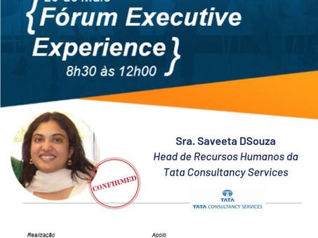 Palestrante Confirmada - Sra. Saveeta DSouza | Fórum Executive Experience