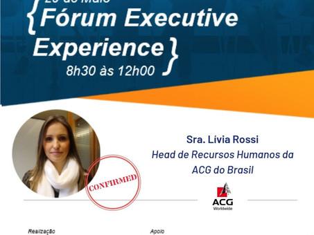 Palestrante Confirmada - Sra. Lívia Rossi | Fórum Executive Experience