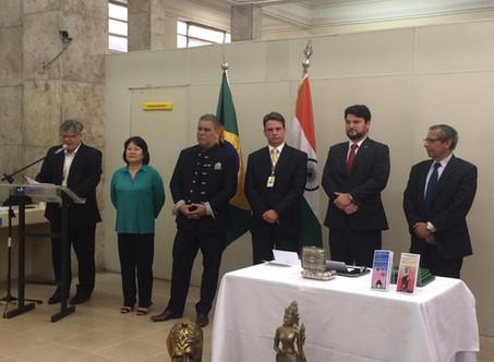 Lançamento do Selo Comemorativo dos 70 anos das Relações Diplomáticas entre Índia e Brasil