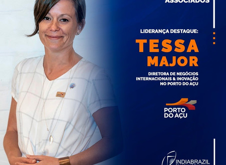 Porto do Açu and Tessa Major, Director of International Business & Innovation