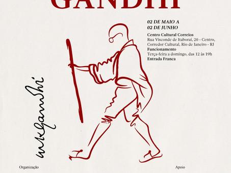 Exposições de Gandhi e Goa Ocorrem no Centro Cultural dos Correios no Rio de Janeiro.