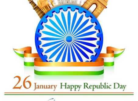 HAPPY INDIAN REPUBLIC DAY!
