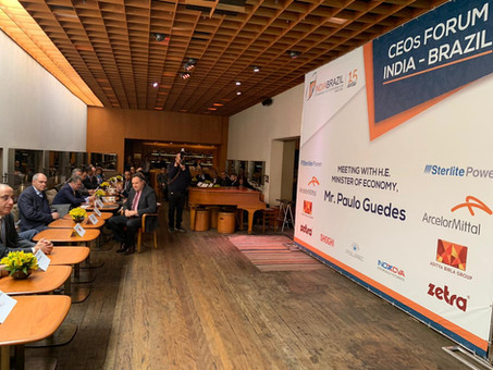 Sterlite Power - CEOs Forum India Brazil
