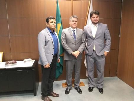 Primeira reunião Hindalco e Governo do Estado de Minas Gerais