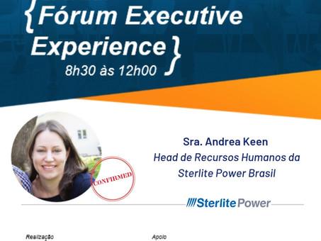 Palestrante Confirmada - Sra. Andrea Keen | Fórum Executive Experience