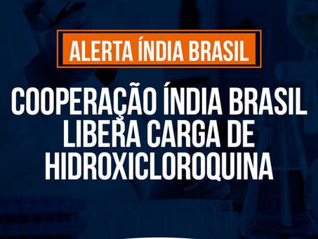 Relacionamento cooperativo Índia Brasil libera carga de Hidroxicloroquina