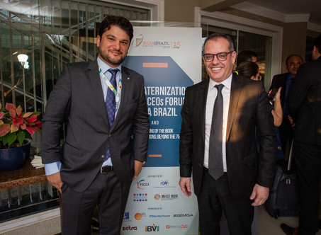 Nunesfarma Nesh at the IV India Brazil CEO Forum - Special Edition