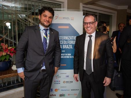Nunesfarma Nesh no IV Fórum de CEOs Índia Brasil - Edição Especial