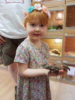 Gemma Mitchel child Evelyn pemission rec