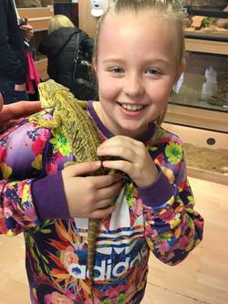 Gemma Steward child Ella Rose perission
