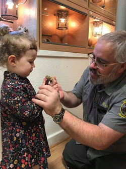 Nick and Grandaughter for Poster