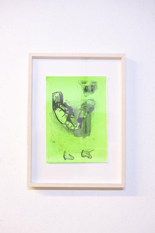 Ella Belenky, Tickle, risograph and screen print