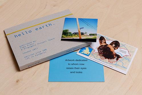 millimetre02 : hello earth postcard folio