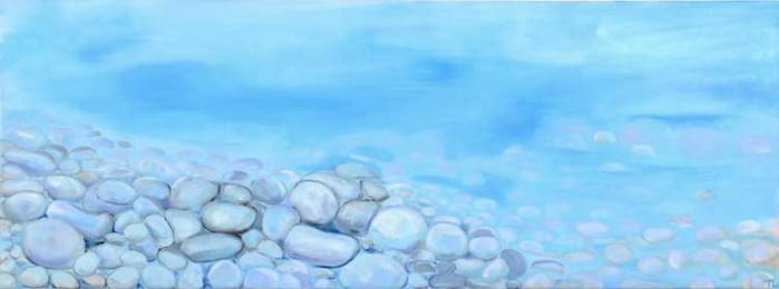 Pebble Light Blue