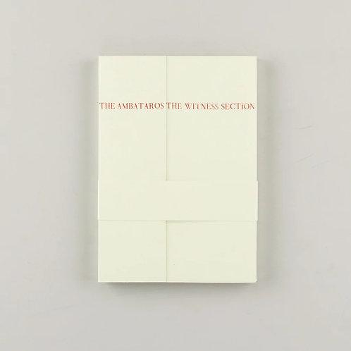 The Ambataros || The Witness Section by Bethan Lloyd Worthington