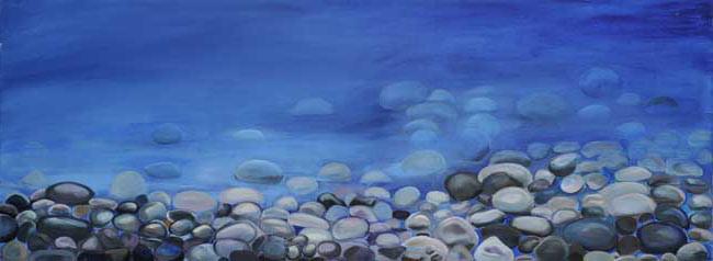 Pebble Deep Blue