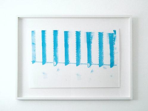 Maia Conran, risograph print